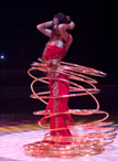 Romina Micheletty et ses hula hoops