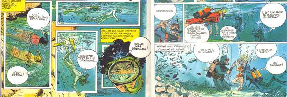 Deux extraits de Découvrir la plongée sous-marine de Dominique Serafini