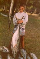 J'ai même posé avec mon poisson : la honte