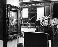 La vitrine de la galerie Romi en 1948 par Robert Doisneau