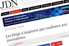 Les blogs n'inspirent pas confiance aux journalistes