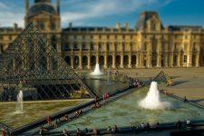 Entre le Louvre et Beaubourg