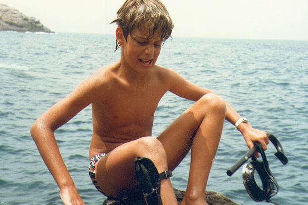 Denis et la plongée à 8 ans