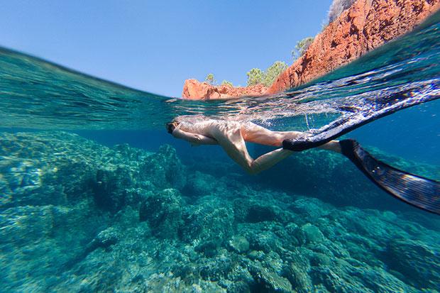 Photos de charme sous-marine