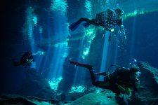 Plonger dans les Cénotes