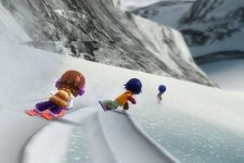 Family ski et la Balance Board sur Wii