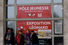 Léonard et Eco-Emballages au festival d'Angoulême