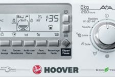 La mère Denis teste le lave-linge Top 8 Kg de Hoover