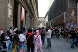 Les touristes à Florence
