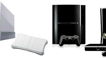Consoles de jeux, Wii, Xbox et Playstation