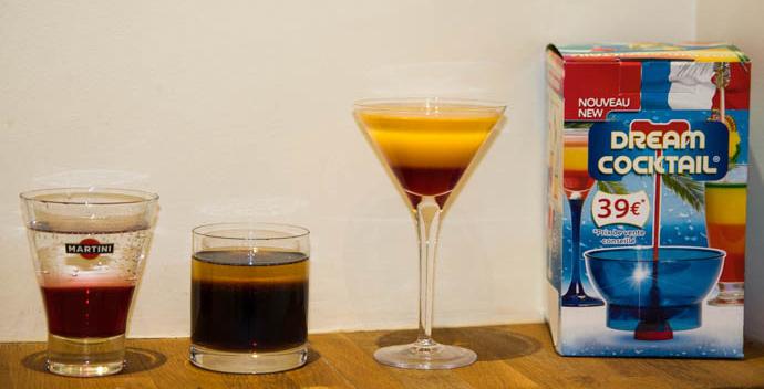 Dream cocktail a fonctionne for Cocktail etage
