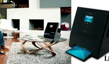 L'imprimante Genesis de Lexmark s'intègre facilement dans votre salon