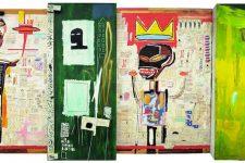 Jean-Michel Basquiat au musée d'art moderne de la ville de Paris