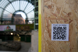 Les Code QR autour du forum des Halles