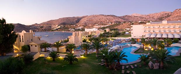 L'hôtel Club Marmara Rhodes Lindos