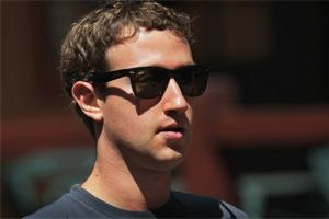 Mark Zuckerberg et ses Ray Ban Wayfarer