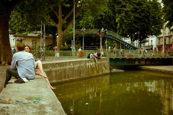 Balade en v lo paris le long des quais et le canal saint martin - Restaurant quai de valmy ...