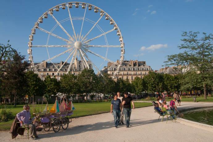 Fl nerie et pickpocket la f te foraine des tuileries - Jardin des tuileries fete foraine ...
