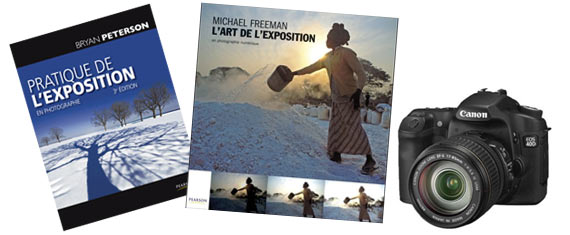 l'art de l'exposition de Michael Freeman, et Pratique de l'exposition en photographie de Bryan Peterson.