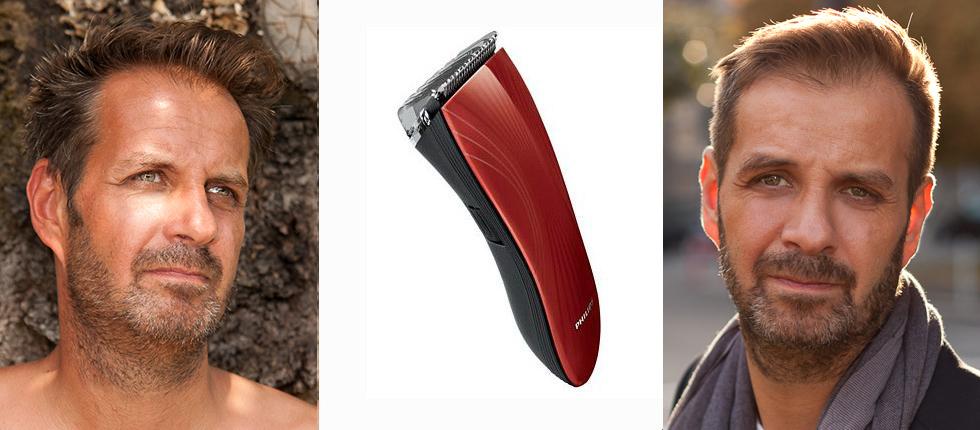 test de la tondeuse spciale barbe de 3 jours philips - Coloration Barbe Grande Surface