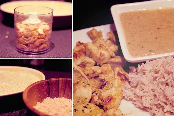 Recette simple du poulet au Satay