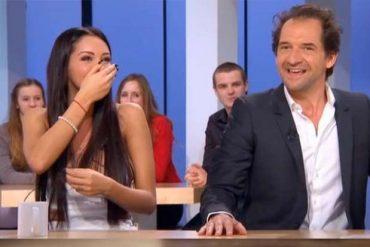 Nabilla dans le Supplément sur Canal Plus avec Stéphane De Groodt