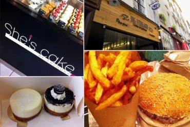 Hamburger, cheesecake et autres réjouissances