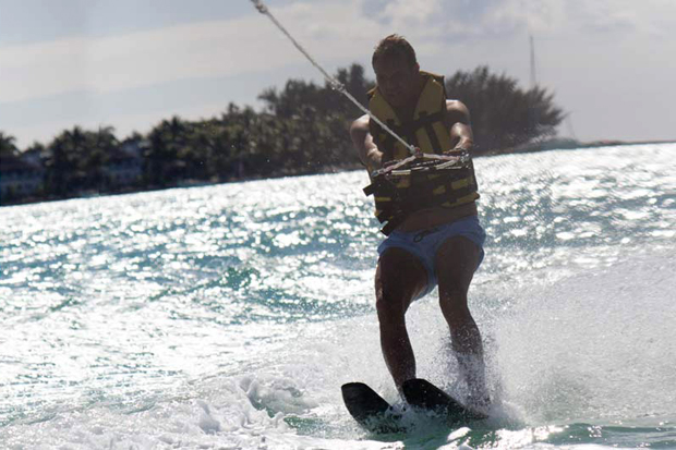 Ski nautique au Mauricia