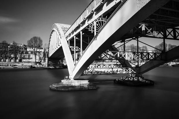 Mes premiers essais de pose longue sur les bords de Seine