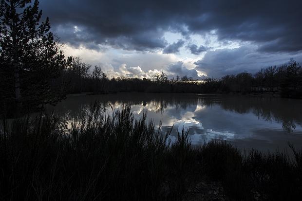 Le lac de Center Parcs Les Bois Francs en Normandie