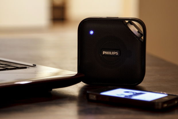 test et avis de l 39 enceinte sans fil bluetooth de philips. Black Bedroom Furniture Sets. Home Design Ideas
