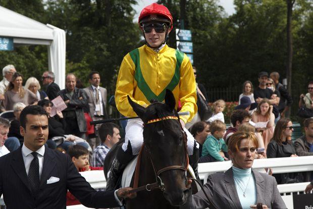 jockey et chevaux