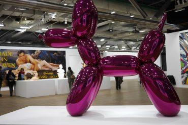 Jeff Koons au centre Pompidou