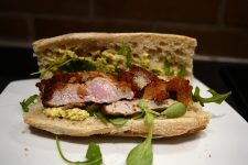 Le sandwich à la milanaise sauce gribiche de chez Aline