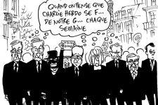 Compilation de dessins pour soutenir Charlie Hebdo