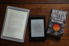 Comparatif entre la liseuse Kindle Paperwhite et l'Ipad