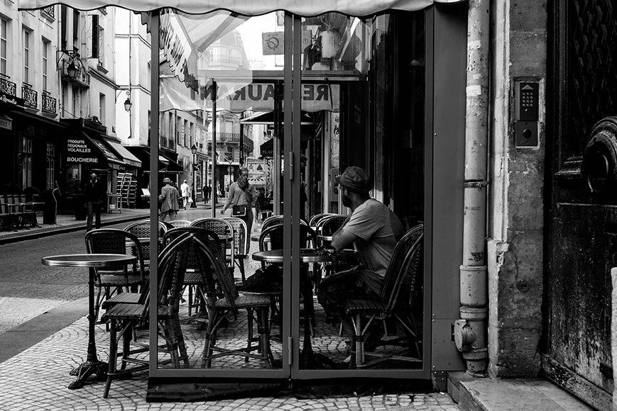 Terrasse rue montorgueil