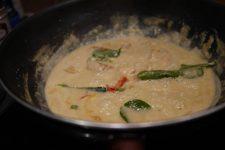Le poulet au Curry vert du Blue Elephant
