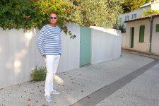 Le petit pantalon blanc à l'île de Ré