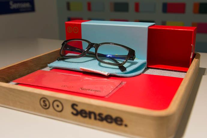 La présentation de mes lunettes Sensee