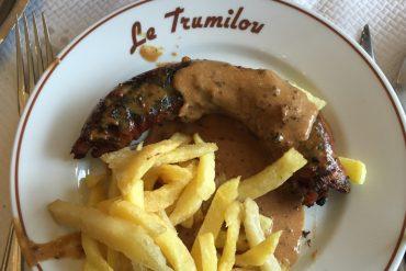 'andouillette sauce moutarde frites maison du Trumilou