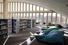 La bibliothèque de la Canopée des Halles