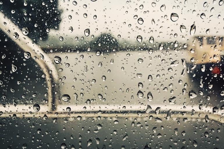 Niderviller sous la pluie