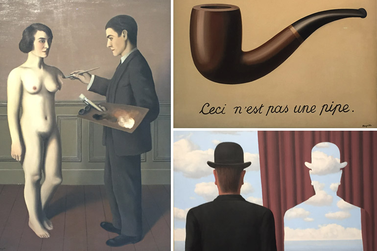 Magritte à Beaubourg