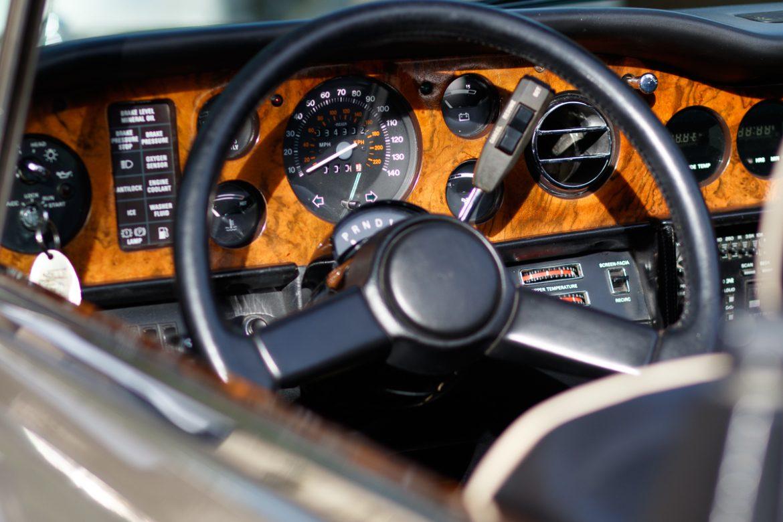 Tableu de bord Rolls-Royce Corniche