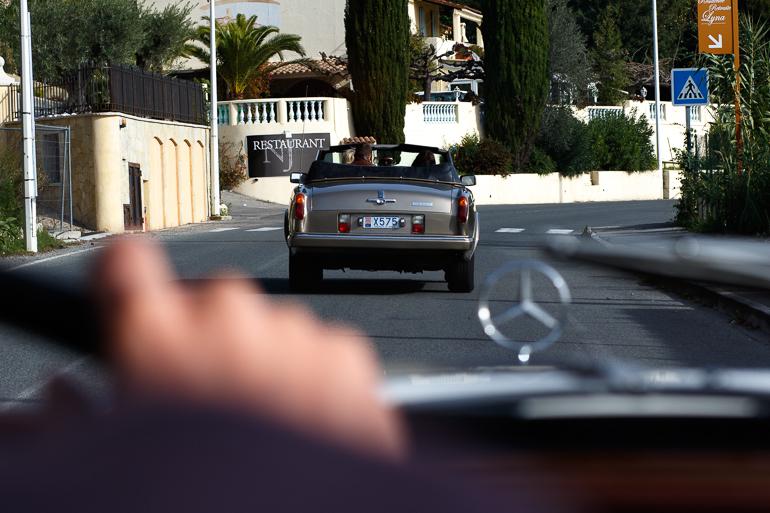 Sur la route de Cannes comme au cinéma