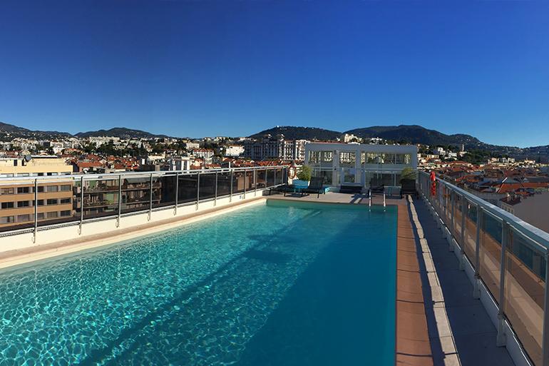 Vue panoramique de l'hôtel Mercure Nice Centre Notre-Dame