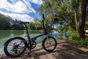 Test du vélo pliant B'twin