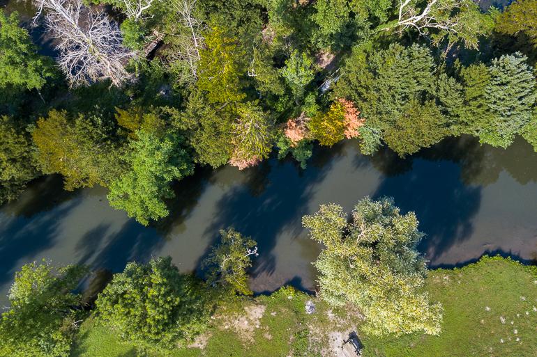 Ballancourt vu de drone