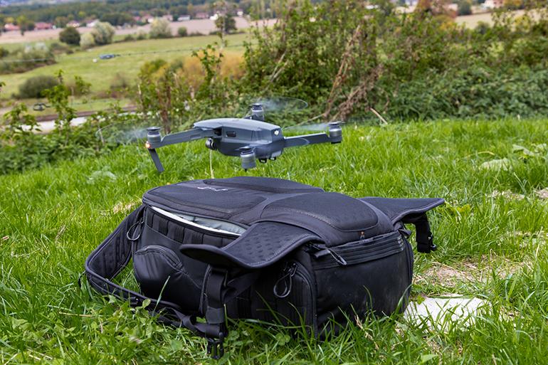 Une piste d'atterrissage pour drone